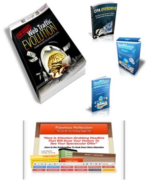 Product picture Web Traffic Evolution Bonus Package